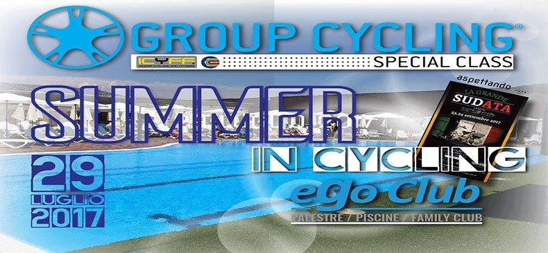 SUMMER IN CYCLING EGO CLUB 29 LUGLIO 2017