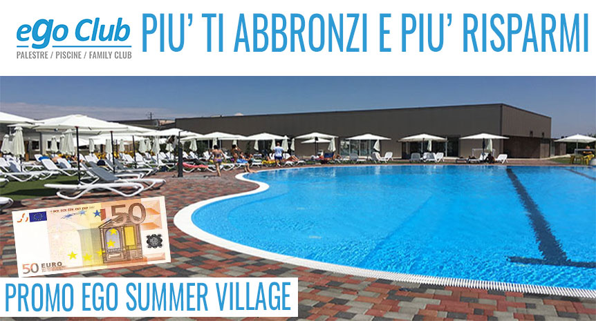 PROMO EGO SUMMER VILLAGE