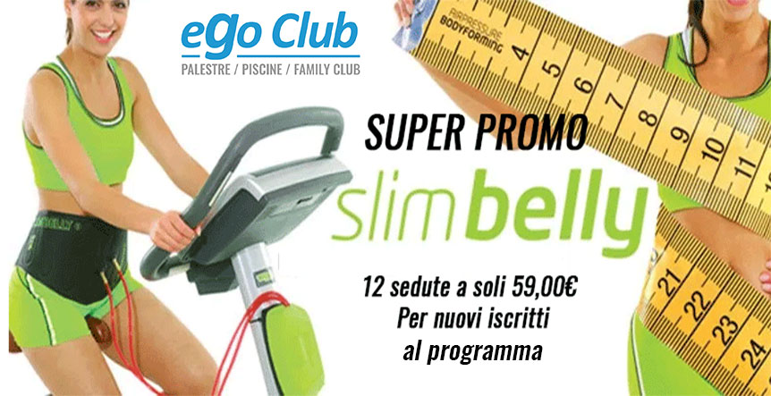 TORNA IN FORMA CON SLIMBELLY E SLIMLEGS