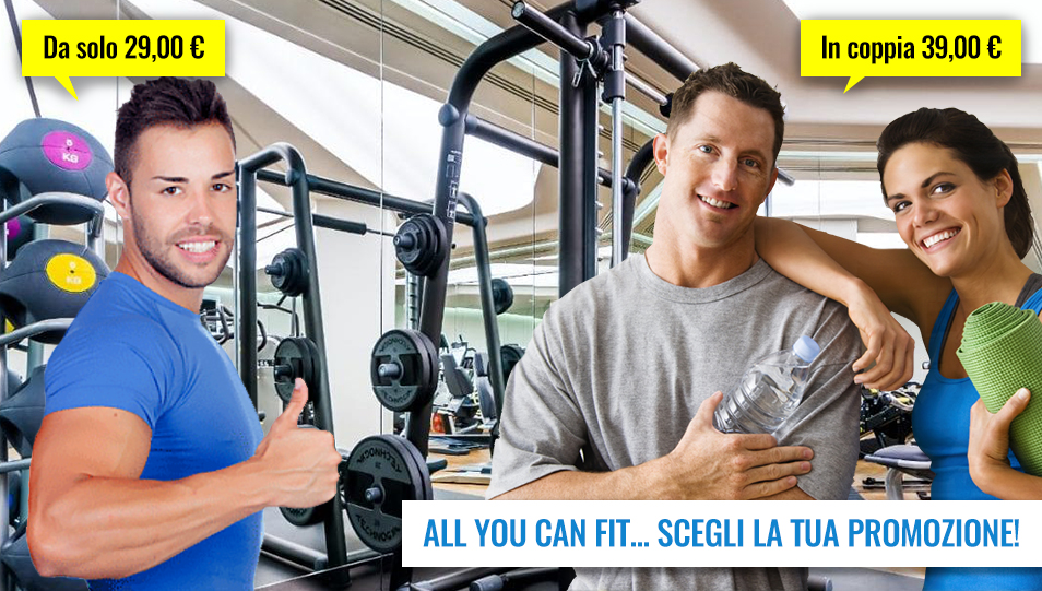 Promozione: ALL YOU CAN FIT!