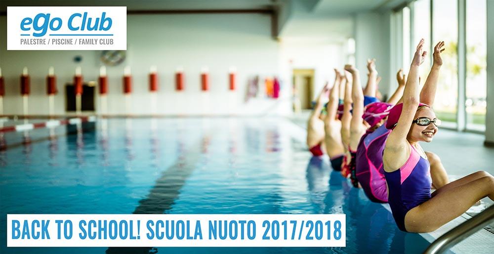 BACK TO SCHOOL! SCUOLA NUOTO 2017/2018