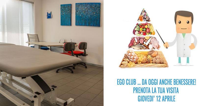 EGO BENESSERE: un nutrizionista esperto da EGO CLUB