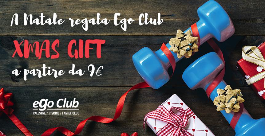 Xmas Gift 2019: metti Ego Club Sotto l'albero